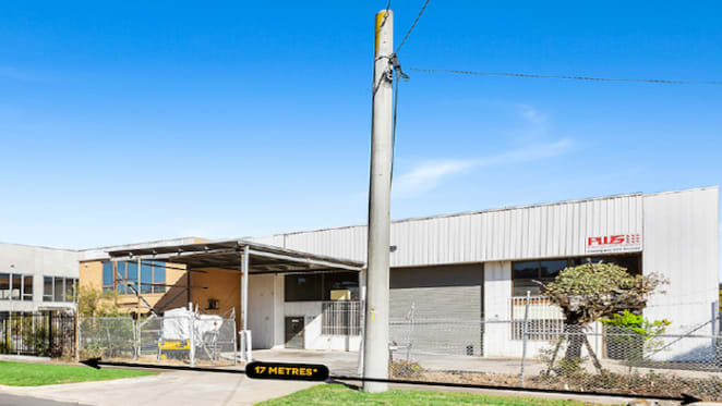 Thomastown industrial building sold for $820,000