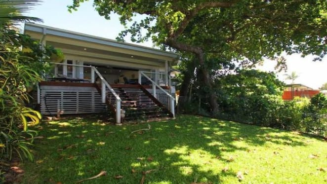 Beachfront South Mission Beach house, Seasons, listed for $990,000