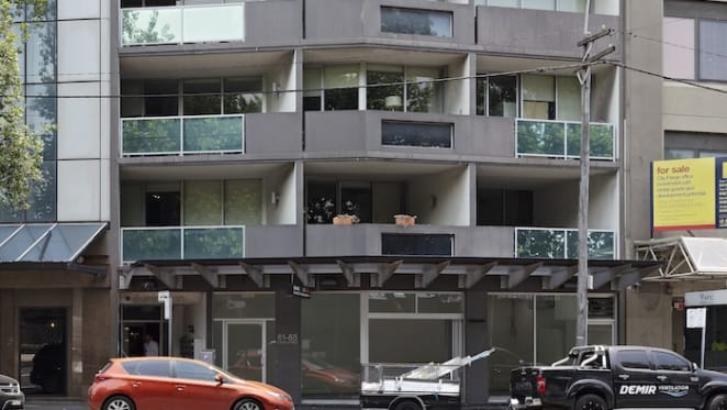 Chippendale strata retail sells for record rate