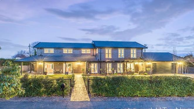 Five bedroom Forrest, ACT house sold for $2.875 million