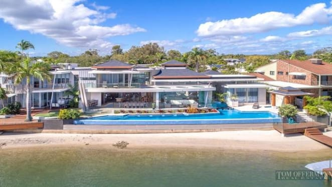 Noosaville riverfront house listed for $11.9 million