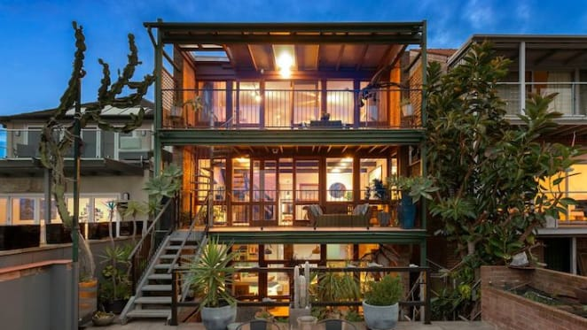 Glebe luxury home with views of city skyline sold