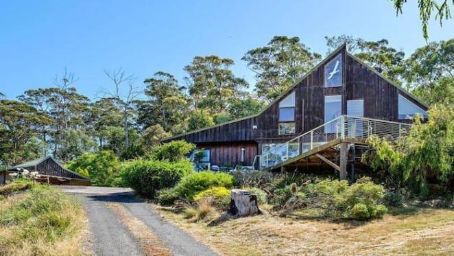 Tinderbox, Tasmania river-view house listed at $695,000 plus