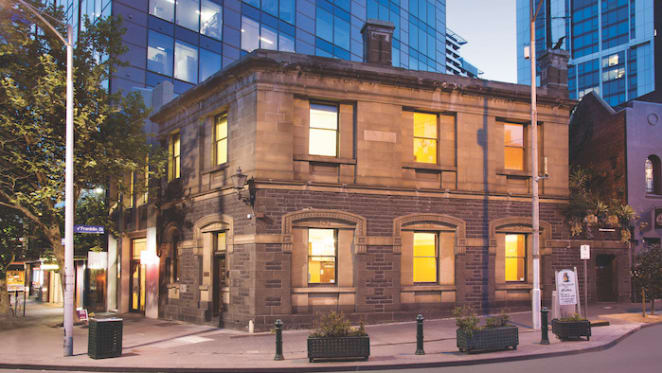 Local investor secures decaying 1860s Melbourne bank premises