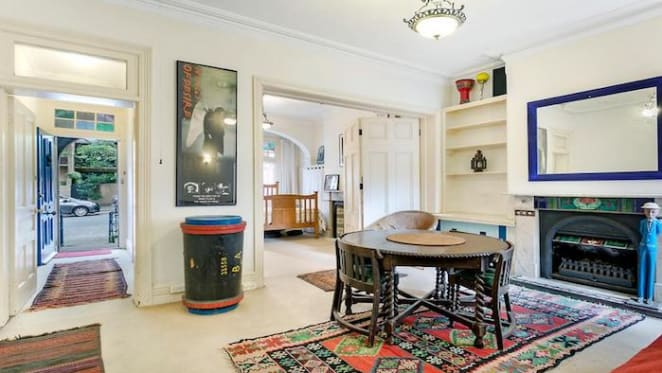 Vincent Ward's Surry Hills home listed on the market