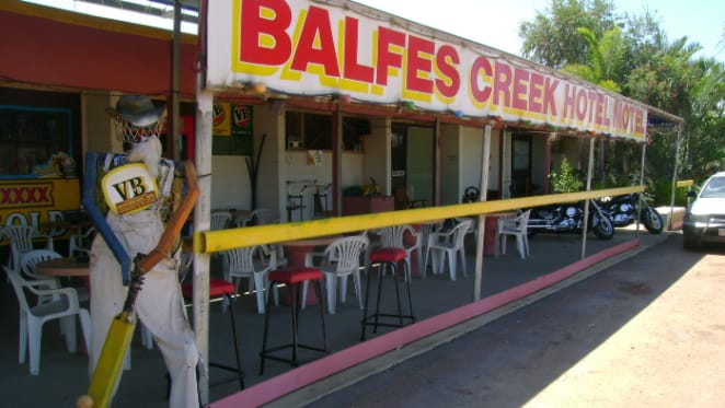 Balfes Creek Hotel for sale in outback Queensland