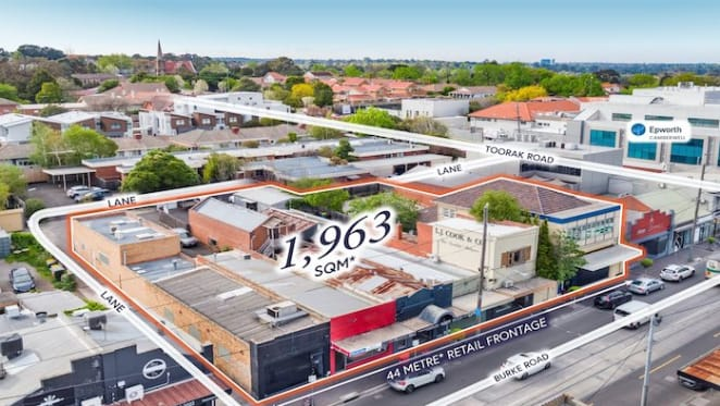 Prime Camberwell commercial block sells for over $10 million