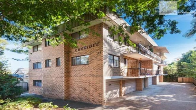 Two bedroom Indooroopilly unit sold for $292,500