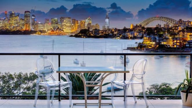 Harbour view luxury apartment sold