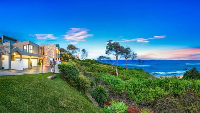 Forresters Beachfront reserve residence for sale