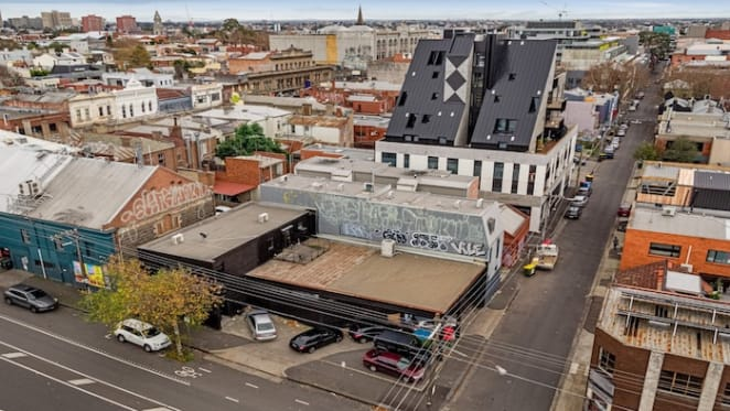 Collingwood site with three street frontages listed