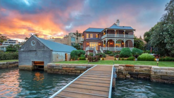Historic 1904 Drummoyne red brick riverfront trophy home listed with $8 million hopes