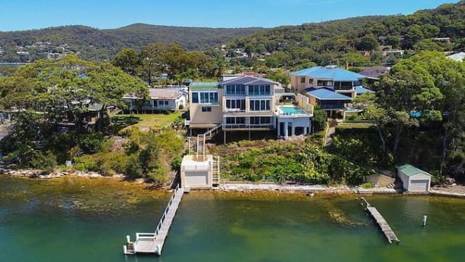 Waterfront Point Clare trophy home to go under the hammer