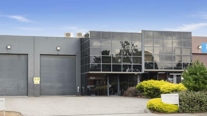 Warehouse office sold under the hammer in 'Golden Mile' precinct