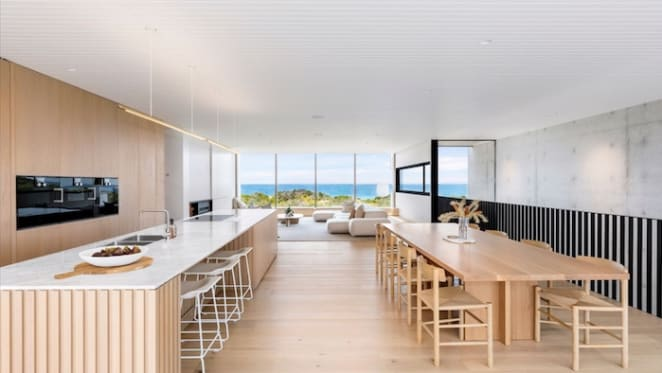 Oceanfront Blairgowrie smart home for sale