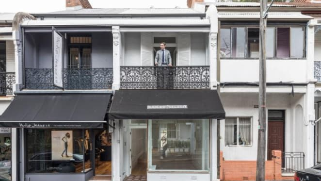 Collette Dinnigan's first ever shop in Paddington sold