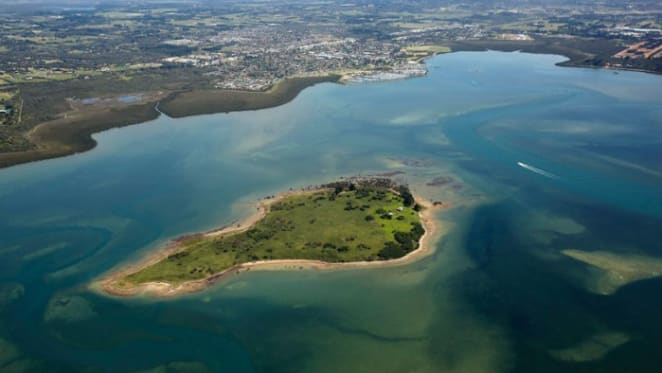 Sandstone Island off Mornington Peninsula listed for November auction