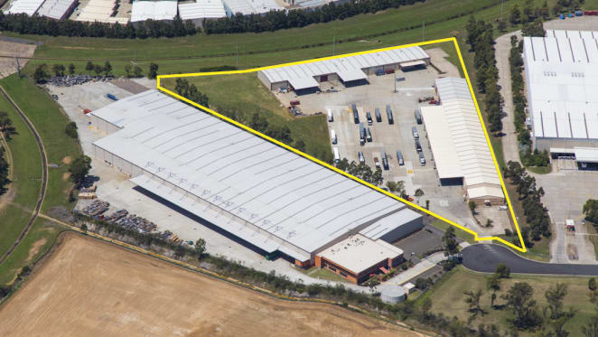 Industrial investment property in Sydney's Ingleburn fetches $8.55 million