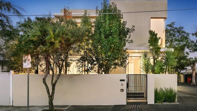 Andy Penn, the Telstra CEO, lists South Yarra house