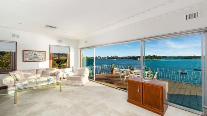 Waterfront McMahons Point house sold for $8.3 million