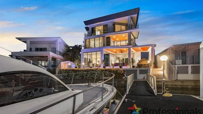 Four bedroom Sovereign Islands house with private pontoon listed for $5.35 million