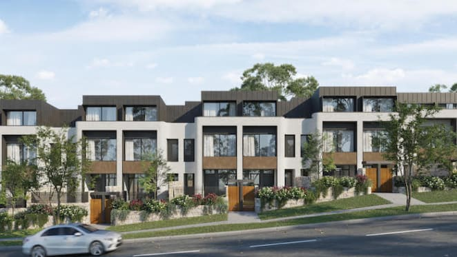 The Archwood in Roseville is the North Shore's latest residential development