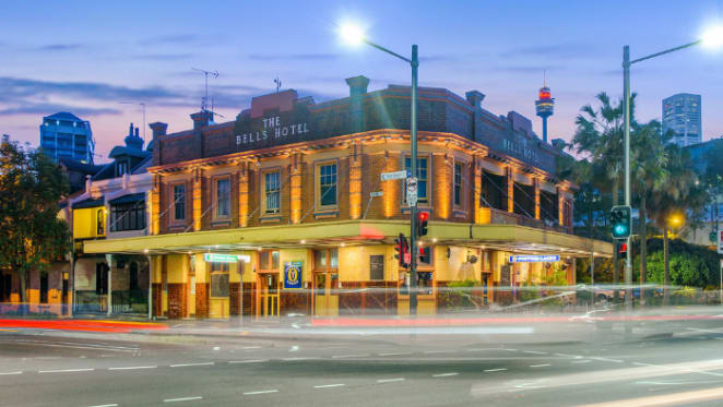 Pub patriarch Arthur Laundy purchases The Bells Hotel in Woolloomooloo