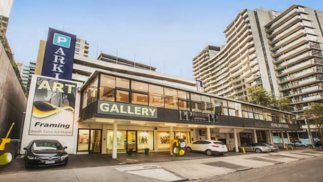 Forrest Hill strata showroom sells on a sharp 3.1% yield