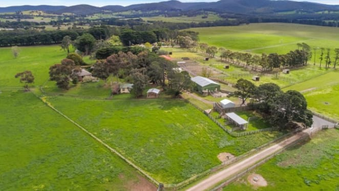 Nardoo, Riddells Creek country property sold by Dr Paul Carter