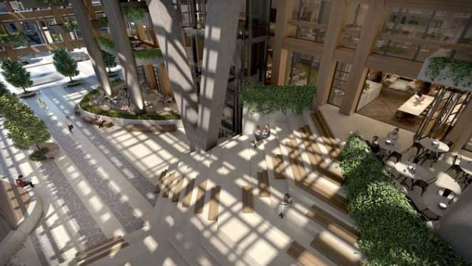 Atrium and performance space slated for Yarra One development