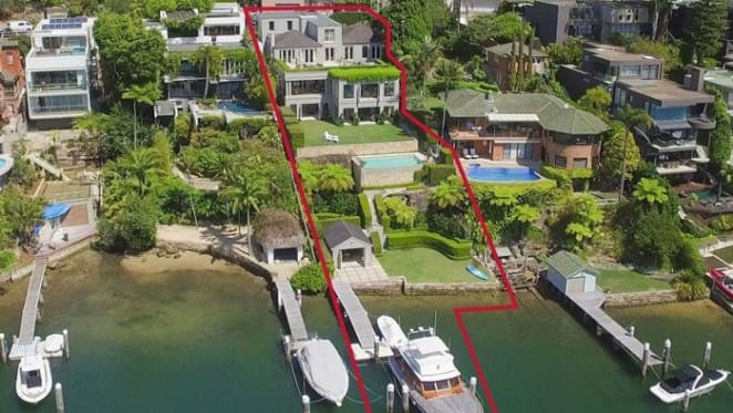 Cammeray harbourfront record price doubles
