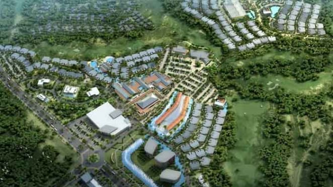 Resort site opportunity on Queensland's Greg Norman-designed Brookwater golf course