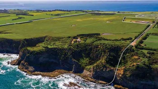 Clifftop property at San Remo for sale