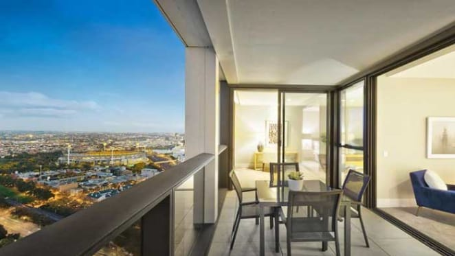 Academic couple sell Melbourne CBD apartment