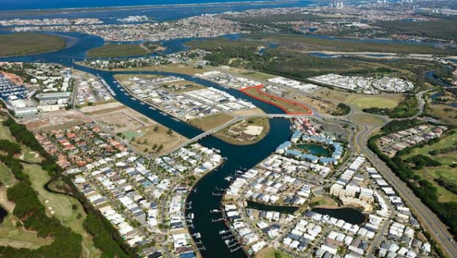 Stockland buys Hope Island waterfront site