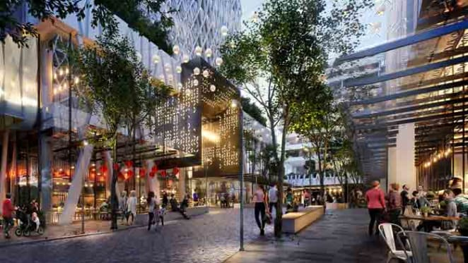 Stockland have five Merrylands residential tower plans