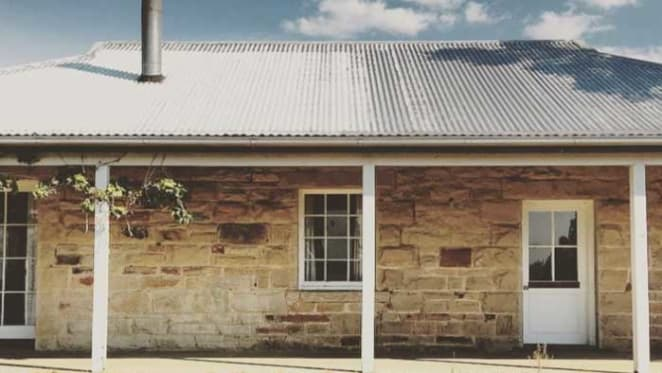 Renovations underway at Sunrise presenter Edwina Bartholomew's farm stay