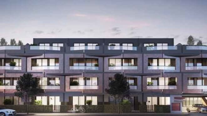 Corner Abbotsford site with apartment approval near Melbourne CBD up for sale