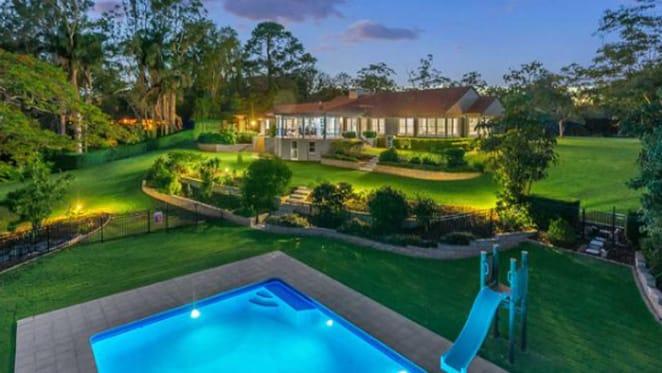 Brisbane richlister lists Fig Tree Pocket riverfront