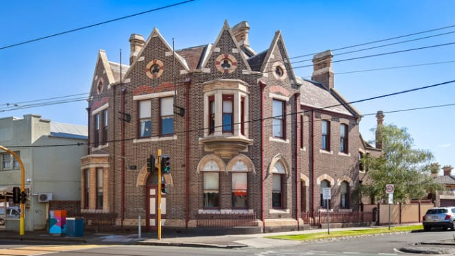 Heritage-listed Gothic corner building sold