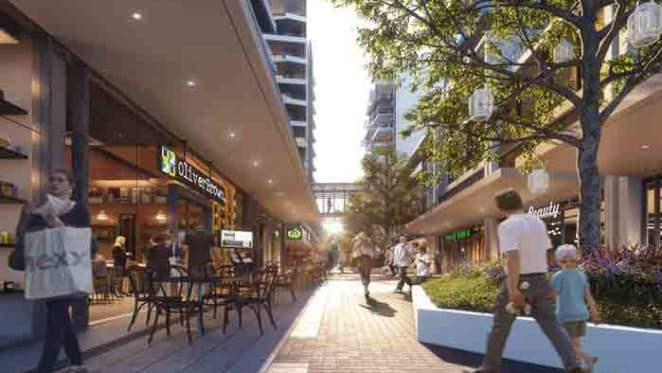 Shopping comes to the doorstep of residents of Avantra in Sydney's Mascot