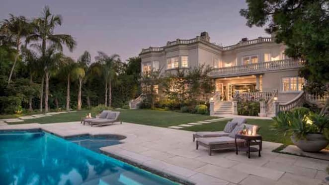 Shark Tank's Andrew Banks lists Beverly Hills trophy home