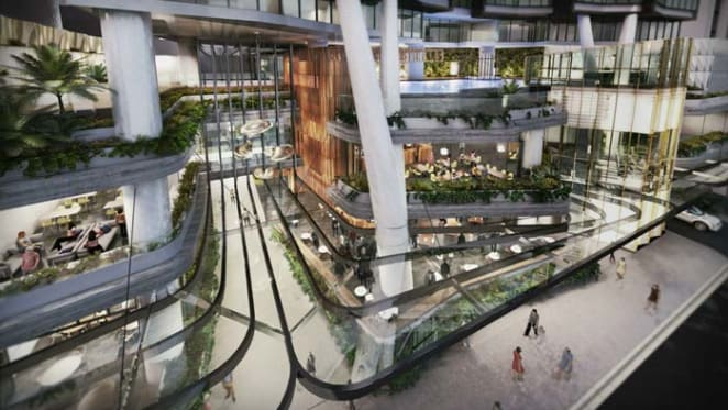 Brisbane council approves $325 million inner city tower and hotel