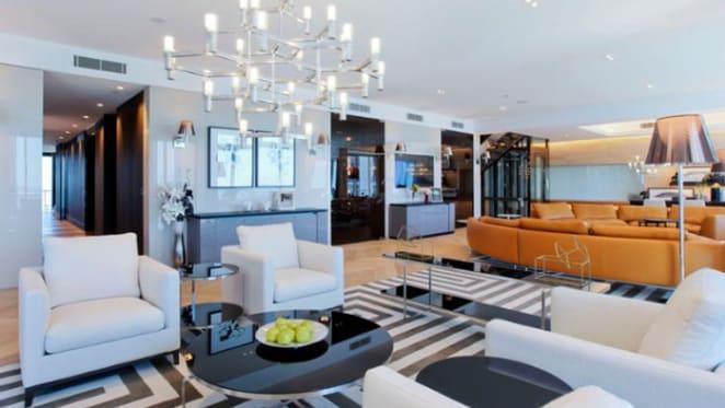 Ron Bakir's $12.5 million Gold Coast penthouse offering