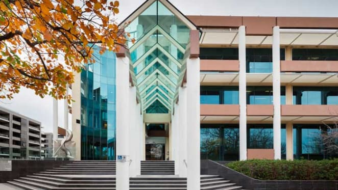 Canberra's AMA House on the market through Colliers International