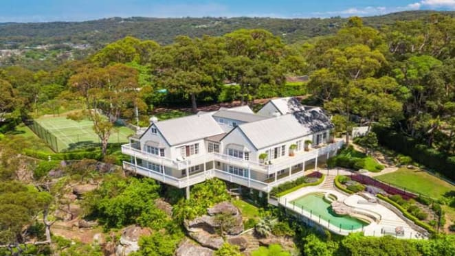 Sydney Bayview mansion listed for $8.5 million