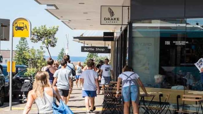 Kiwis buy Bondi Beach retail
