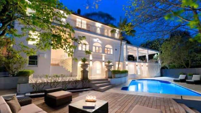 Schattner artistic duo list Bellevue Hill home