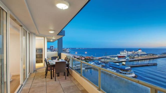 Port Melbourne penthouse jewel listed