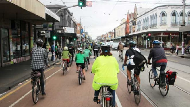 Australian cities far from mecca's for walking and cycling